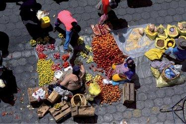 Fruits frais du marché d'Otavalo. (© Author's Image)