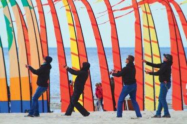 Festival du cerf-volant sur la plage de Berck. (© Philippe Turpin)