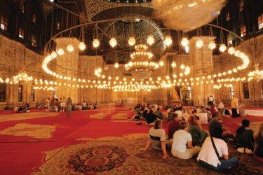 Mosquée Mohammed Ali au sein de la citadelle. (© Author's Image)