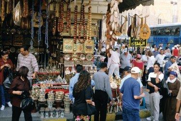 Commerces du quartier Khan el-Khalili. (© Author's Image)