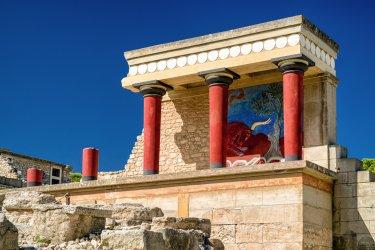 Le Grand Palais, Cnossos. (© Jaroslav Moravcik)
