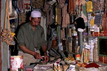 Boutique de la médina de Tétouan. (© Author's Image)