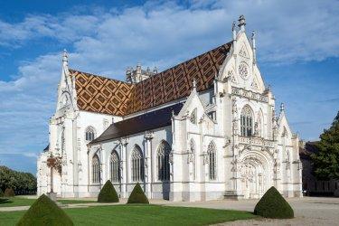 Monastère Royal de Brou à Bourg-en-Bresse. (© pio3 - Shutterstock.com)