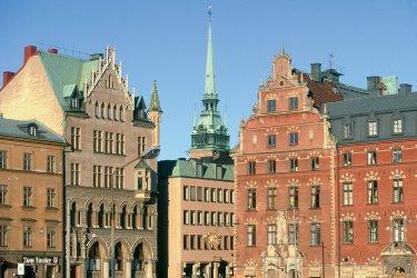 Bâtisses à Stockholm. (© Thierry Lauzun - Iconotec)
