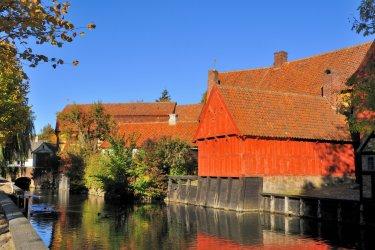Den gamle by. (© Steffen Hoejager - Shutterstock.com)