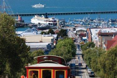 Le célèbre tram de San Francisco. (© Sime)