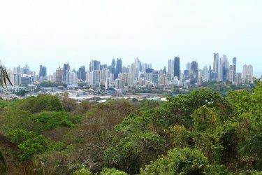 La ville moderne depuis le parc métropolitain de Ciudad de Panama. (© Julie OLAGNOL)
