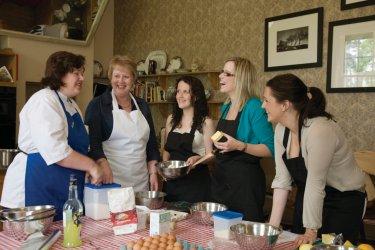 Cours de cuisine à Ghan House, Carlingford, comté de Louth. (© Paul Carroll)