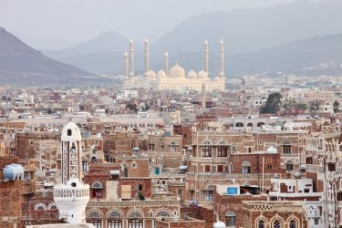 Sanaa, capitale politique du Yémen. (© zanskar)