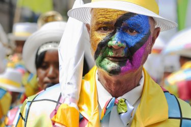 Cape Town minstrel carnaval. (© urbancowboy - Shutterstock.com)
