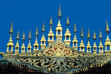 Détail architectural à Luang Prabang. (© Alamer - Iconotec)