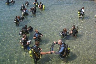 Plongée à Eilat. (© Céline MAGNIN)