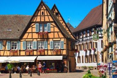 Le village d'Eguisheim. (© Mellow10 - Fotolia)