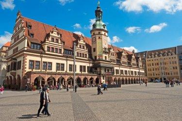 Hôtel de ville de Leipzig.