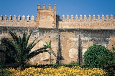 Jardin de la kasbah des Oudayas. (© Atamu RAHI - Iconotec)