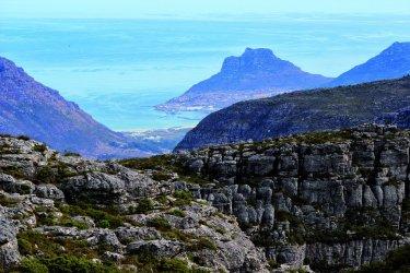 Hout Bay vu de Table Mountain (© Abdesslam Benzitouni)