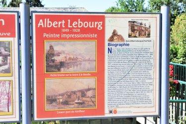 Albert Lebourg est né à Montford-sur-Risle. (© Vincent GUERRIER)