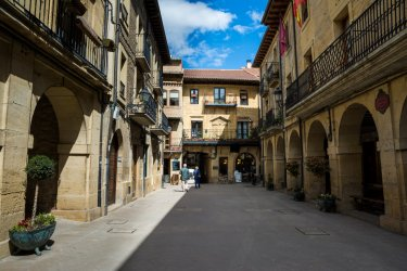 Centre historique de Laguardia. (© jon_chica)