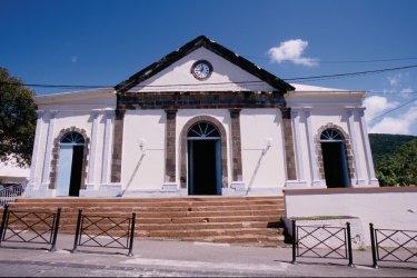 Église Notre Dame de l'Assomption de Pointe-Noire. (© Vincent FORMICA)
