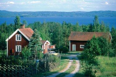Suède : Région de Rättvik.