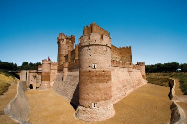 Castillo de la Mota, dans les environs de Valladolid. (© Author's Image)