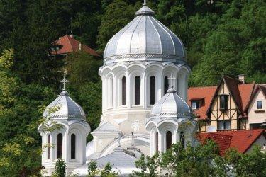 Église orthodoxe près du parc Nicolae Titulescu. (© Stéphan SZEREMETA)