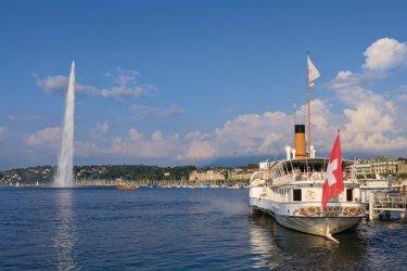 Genève : Croisière sur le lac avec la CGN.