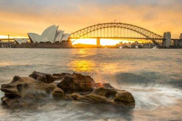 L'Opéra de Sydney et Harbour Bridge. (© Boyloso - Shutterstock.com)