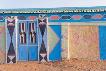 Murs peints à Soleib. (© Tom Pepeira - Iconotec)