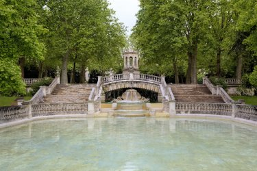 La fontaine du jardin Darcy, Dijon. (© ivan_varyukhin - Adobe Stock)