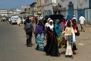 Dans les rues de Djibouti. (© Eyerusalem ABERA)
