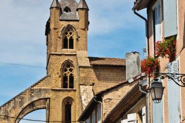 Le clocher de l'église de Mirande. (© Philippe GRAILLE - Fotolia)