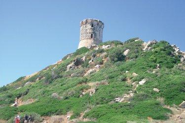La tour génoise de la Parata à Ajaccio (© XAVIER BONNIN)