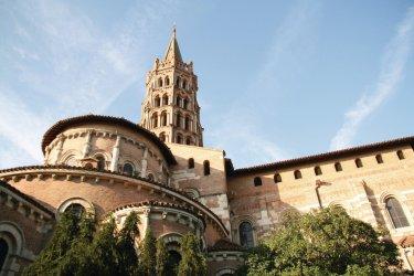 La basilique Saint-Sernin - Toulouse (© JULIANE - FOTOLIA)