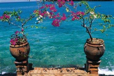 Villa privée et Blue Lagoon. (© Atamu RAHI - Iconotec)