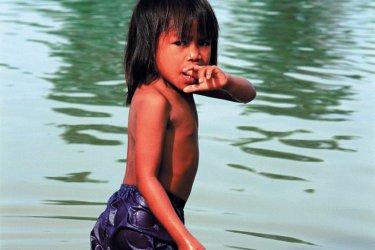 Jeune Laotienne sur le site du Vat Phou. (© Author's Image)