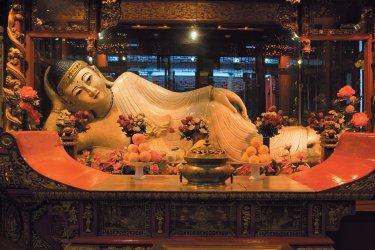 Shanghai : Temple du Bouddha de Jade.