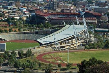 Stade Soccer city à Johannesburg. (© iStockphoto.com)