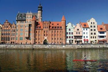 Vieux port de Gdańsk. (© iStockphoto.com/Voyagerix)