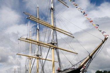 Vieux navire à voile sur la rivière Clyde. (© DouglasMcGilviray - iStockphoto.com)