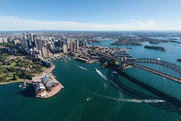Survol de Sydney. (© Brian RAISBECK - iStockphoto)
