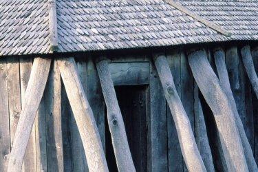 Maison viking, Fyrkat. (© Thierry Lauzun - Iconotec)