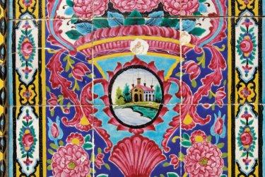 Faïences dans le Palais du Golestan. (© Massimo Pizzotti)