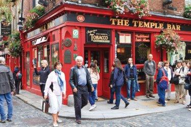 Dublin : The Temple Bar est un pub très fréquenté par les D