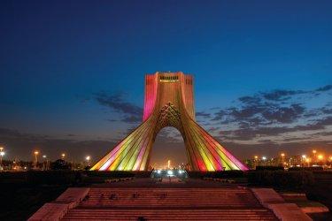 Tour Azadi, Téhéran. (© Tarzan9280 - iStockphoto)