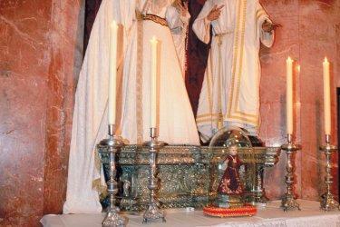 Statues baroques de la cathédrale de Cadix. (© Maria D'Amore - Iconotec)