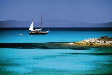 Voilier au large de Formentera. (© Author's Image)