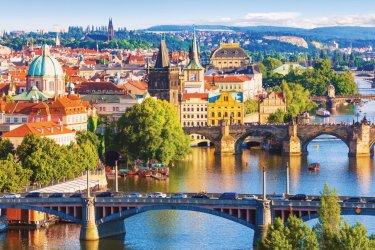 Prague. (© scanrail - iStockphoto)
