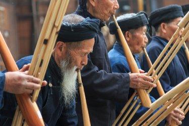 Musiciens traditionnels de la province de Guizhou. (© outcast85 - Shutterstock.com)