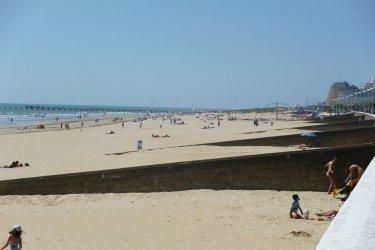 La plage de Saint-Jean-de-Monts (© Linda CASTAGNIE)